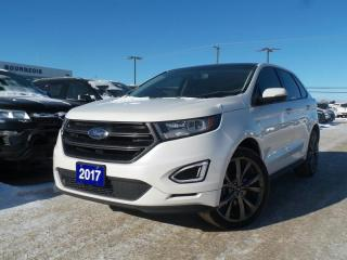 Used 2017 Ford Edge *CPO 2.9% APR* SPORT 2.7L V6 LEATHER NAVIGATION for sale in Midland, ON