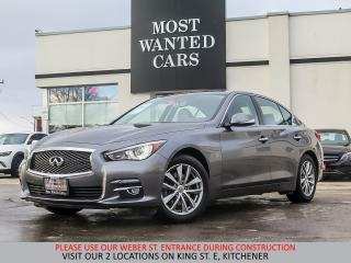 Used 2014 Infiniti Q50 Premium AWD | NAVIGATION | CAMERA | BOSE for sale in Kitchener, ON