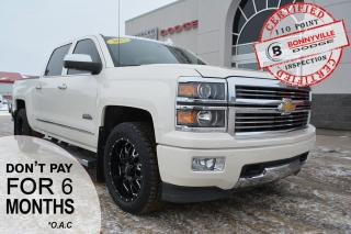 Used 2015 Chevrolet Silverado 1500 HIGH COUNTRY- Leather, Sunroof, Remote Start,Tonneau Cover for sale in Bonnyville, AB