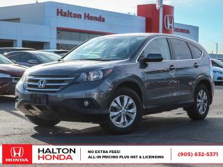 Used 2013 Honda CR-V EX-L 4WD|NO ACCIDENTS|ONE OWNER for sale in Burlington, ON