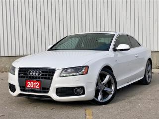 Used 2012 Audi A5 S Line|Navi|Blind Spot| Bang&Olufsen Sound|FINANCE HERE for sale in Mississauga, ON