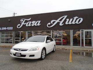Used 2007 Honda Accord EX-L , AUTOMATIC , LEATHER & SUNROOF for sale in Scarborough, ON