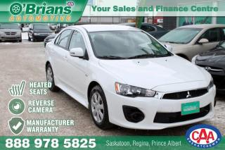 Used 2017 Mitsubishi Lancer ES w/Mfg Warranty for sale in Saskatoon, SK