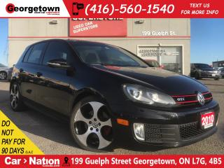 Used 2010 Volkswagen GTI 5-Door | 6SPD M/T | CLEAN CARFAX | VERY RARE FIND for sale in Georgetown, ON
