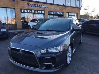 Used 2010 Mitsubishi Lancer Ralliar RECARO SPORT/ AWD/ NAVIGATION for sale in North York, ON