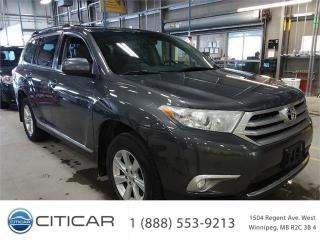 Used 2011 Toyota Highlander 7 Passengers*4WD*Camera*Power Lift* for sale in Winnipeg, MB