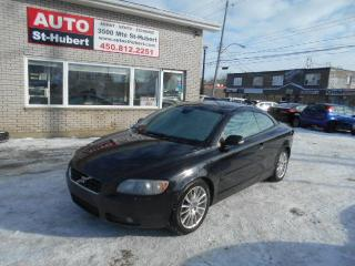 Used 2007 Volvo C70 T5 Convertible for sale in St-Hubert, QC