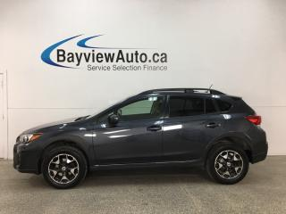 Used 2018 Subaru XV Crosstrek Convenience - AWD! REVERSE CAM! BLUETOOTH! CRUISE! A/C! ALLOYS! for sale in Belleville, ON
