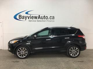 Used 2014 Ford Escape - SYNC! KEYPAD! HTD SEATS! 1/2 LTHR! CHROMES! for sale in Belleville, ON