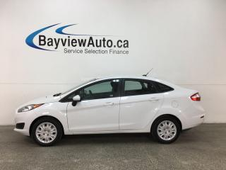 Used 2015 Ford Fiesta - 5SPD! BUDGET BUDDY! A/C! SYNC! for sale in Belleville, ON