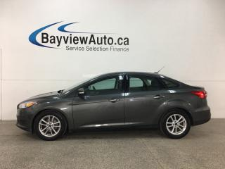 Used 2016 Ford Focus - SYNC! HTD SEATS! CRUISE! A/C! PWR GROUP! for sale in Belleville, ON