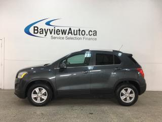 Used 2016 Chevrolet Trax LT - ONSTAR! MY LINK! SUNROOF! REMOTE START! BOSE SOUND! for sale in Belleville, ON