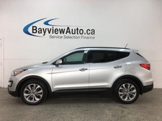 Used 2016 Hyundai Santa Fe Sport 2.0T SE - AWD! HTD FRONT & REAR LTHR! PANOROOF! REVERSE CAM! PWR LIFTGATE! for sale in Belleville, ON