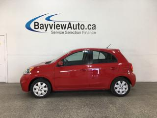 Used 2015 Nissan Micra SV - A/C! CRUISE! BLUETOOTH! PWR GROUP! for sale in Belleville, ON