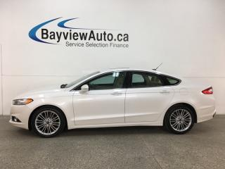 Used 2013 Ford Fusion - SYNC! HTD LTHR! NAV! BSA! SUNROOF! REVERSE CAM! for sale in Belleville, ON