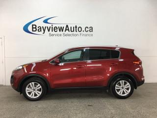 Used 2019 Kia Sportage LX - HTD SEATS! REVERSE CAM! BLUETOOTH! ALLOYS! for sale in Belleville, ON