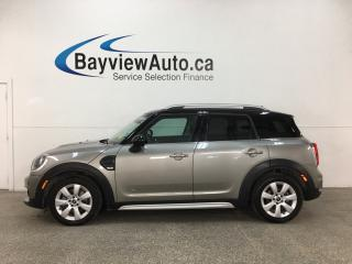 Used 2019 MINI Cooper Countryman Cooper - BLUETOOTH! REVERSE CAM! HTD SEATS! STOP/START ENGINE! ALLOYS! for sale in Belleville, ON