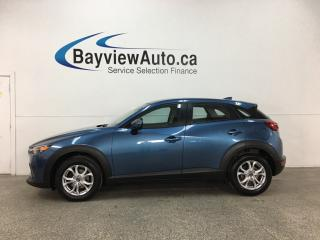 Used 2018 Mazda CX-3 GS - REVERSE CAM! BLUETOOTH! CRUISE! PUSH START! ALLOYS! SKYACTIV! for sale in Belleville, ON
