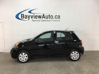 Used 2017 Nissan Micra - 5SPD! BUDGET BUDDY! for sale in Belleville, ON