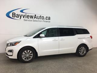 Used 2019 Kia Sedona LX - BLUETOOTH! REVERSE CAMERA! HTD SEATS! ECONOMY MODE! ALLOYS! for sale in Belleville, ON