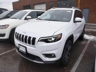 New 2019 Jeep Cherokee Limited LEATHER/SAFETYTEC/NAVI/SUNROOF for sale in Concord, ON