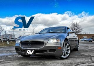Used 2007 Maserati Quattroporte S LEATHER/NAVI/SUNROOF for sale in Concord, ON