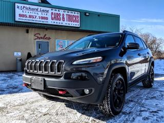 Used 2016 Jeep Cherokee Trailhawk for sale in Bolton, ON