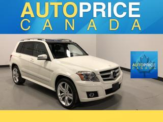 Used 2011 Mercedes-Benz GLK-Class NAVIGATION|PANOROOF|LEATHER for sale in Mississauga, ON