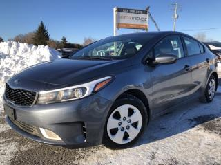 Used 2017 Kia Forte LX+ Auto with Heated Seats, BackupCam, Bluetooth and Steering Wheel Controls! Also Pwr Windows, Keyless for sale in Kemptville, ON