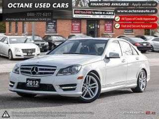 Used 2012 Mercedes-Benz C-Class NO ACCIDENTS! 1 OWNER! for sale in Scarborough, ON