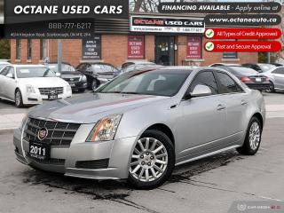 Used 2011 Cadillac CTS 3.0L ONTARIO VEHICLE! SERVICE RECORDS! LOW KM! for sale in Scarborough, ON