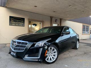 Used 2014 Cadillac CTS Sedan 2.0L Turbo AWD I NAV I LEATHER I REMOTE for sale in Oakville, ON
