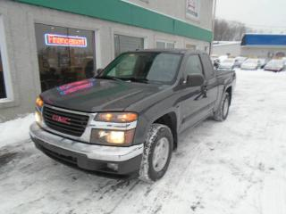 Used 2008 GMC Canyon Cabine allongée 2 RM 125,9 po SLE for sale in St-Jérôme, QC
