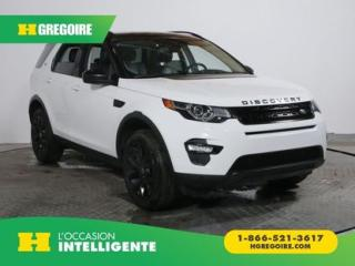 Used 2016 Land Rover Discovery Sport HSE AWD GR ELECT for sale in St-Léonard, QC