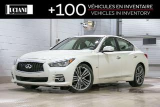 Used 2017 Infiniti Q50 3.0T for sale in Montréal, QC