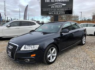 Used 2010 Audi A6 3.0L AWD Special Edition SUNROOF LEATHER for sale in Mississauga, ON