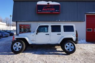 Used 2011 Jeep Wrangler Sahara Awd for sale in Lévis, QC