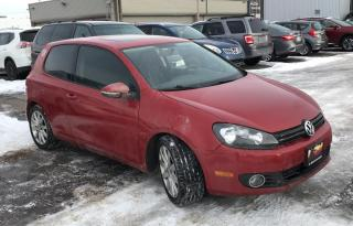 Used 2010 Volkswagen Golf Sportline - SUNROOF - CERTIFIED for sale in Toronto, ON