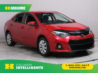 Used 2014 Toyota Corolla S A/C CUIR BLUETOOTH for sale in St-Léonard, QC