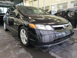Used 2007 Honda Civic Sdn LX, A/C, CRUISE CONTROL for sale in Edmonton, AB