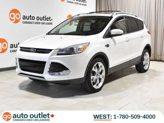 Used 2015 Ford Escape TITANIUM 4WD; NAV, PANO ROOF, POWER HATCH, FACTORY REMOTE START for sale in Edmonton, AB