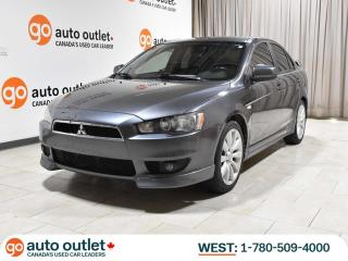 Used 2009 Mitsubishi Lancer GTS; Auto, Heated Seats, LOW KM!! for sale in Edmonton, AB