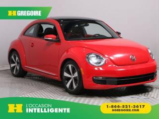 Used 2012 Volkswagen Beetle PREMIERE+ CUIR TOIT for sale in St-Léonard, QC