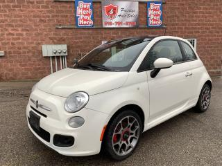 Used 2013 Fiat 500 Sport/ONE OWNER/NO ACCIDENT/WARRANTY INCLUDED for sale in Cambridge, ON