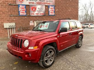 Used 2009 Jeep Patriot North/4X4/NO ACCIDENT/CERTIFIED/WARRANTY INCLUDED for sale in Cambridge, ON