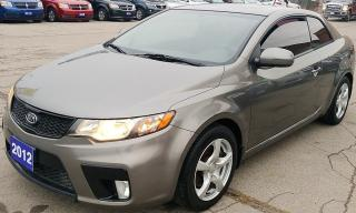 Used 2012 Kia Forte SX for sale in Hamilton, ON