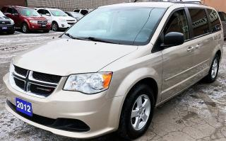 Used 2012 Dodge Grand Caravan SXT for sale in Hamilton, ON