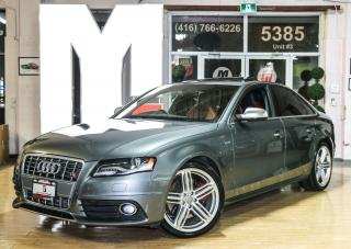 Used 2012 Audi S4 3.0 - S TRONIC|SUNROOF|HEATED SEATS for sale in North York, ON
