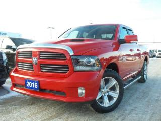 Used 2016 RAM 1500 SPORT 5.7L V8 HEATED SEATS / STEERING for sale in Midland, ON