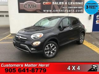 Used 2016 Fiat 500 X Trekking  AWD U-CONNECT BT  ALLOYS REMOTE for sale in St. Catharines, ON